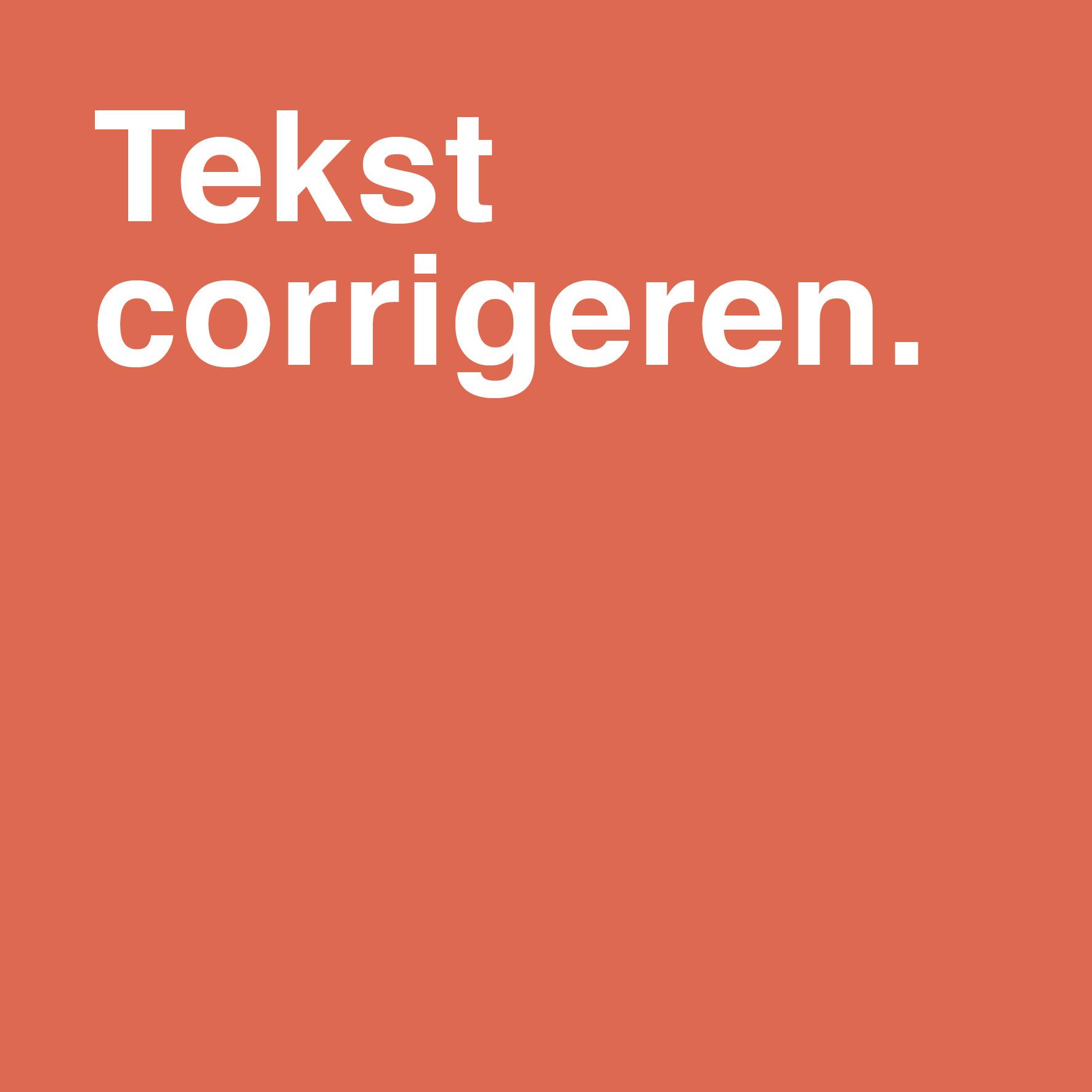 Tekst redigeren/corrigeren in Word: voorbeeld