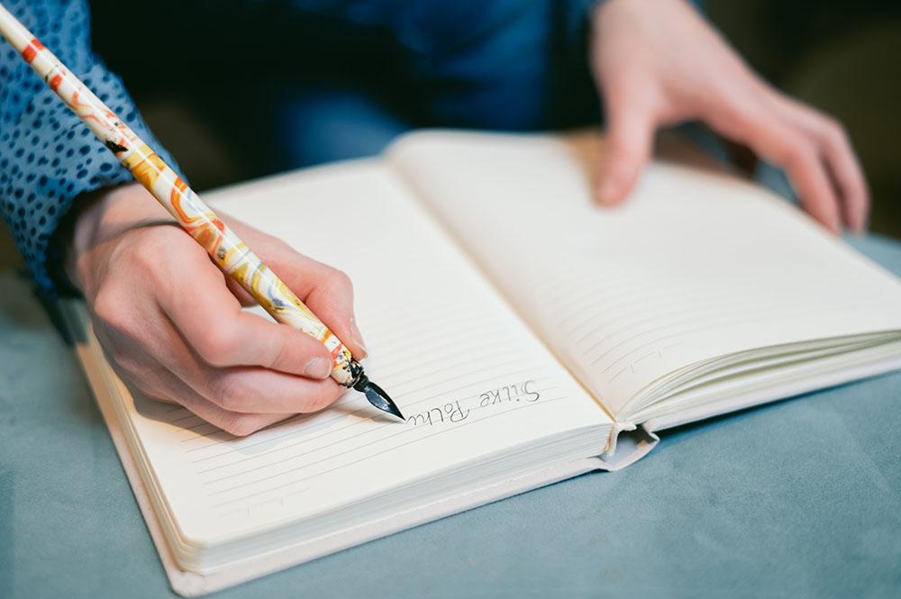 schrijven zonder moeite